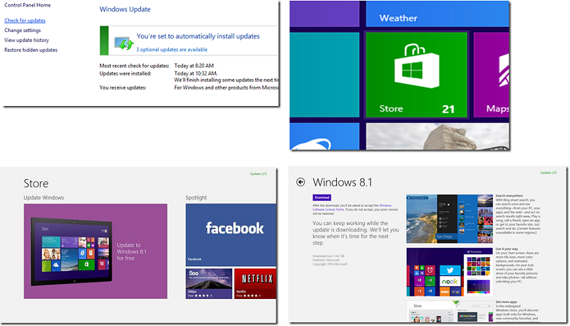 How to Update from Win 8 to 8.1