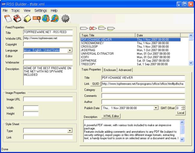 Web page freeware software